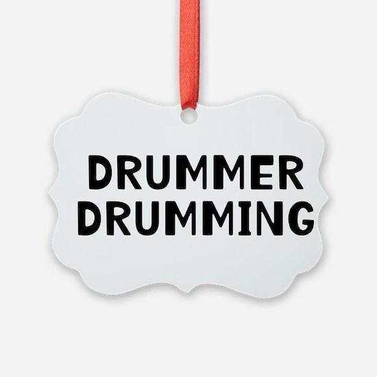 Drummer Ornament