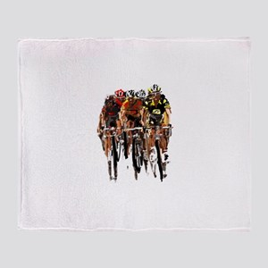 Tour de France Throw Blanket