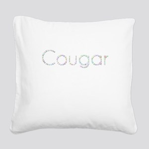 Cougar (Candies) Square Canvas Pillow