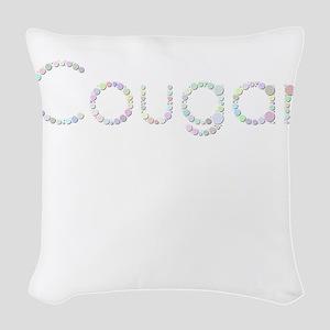 Cougar (Candies) Woven Throw Pillow