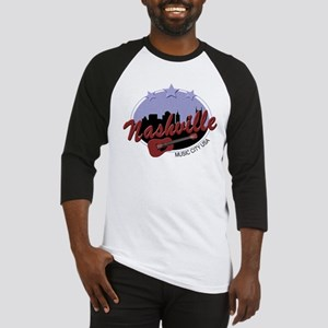 Nashville Music City USA-04 Baseball Jersey