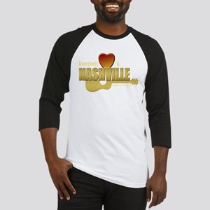 Everybody Loves Nashville-GLD Baseball Jersey