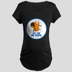 Live Long and Prosper Maternity T-Shirt