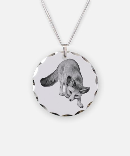 Fennec Desert Fox Necklace