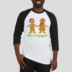 engaged gingers green words Baseball Jersey