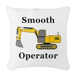 Smooth Operator Woven Throw Pillow