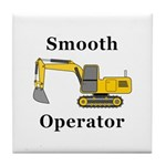 Smooth Operator Tile Coaster