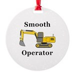 Smooth Operator Round Ornament