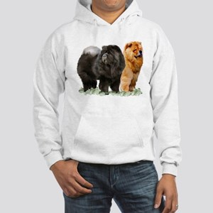 red and black chow Sweatshirt