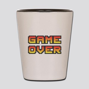 Game Over (Pixel Art) Shot Glass