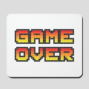 Game Over (Pixel Art) Mousepad