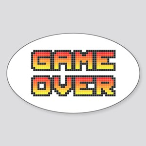 Game Over (Pixel Art) Sticker