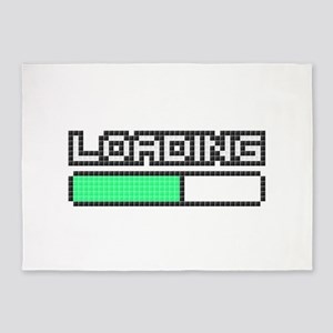 Loading (Pixel Art) 5'x7'Area Rug