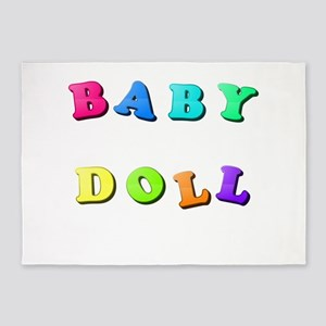 Baby Doll 5'x7'Area Rug