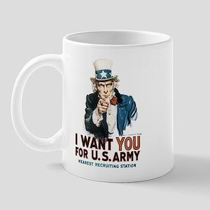 Uncle Sam I Want You Mug