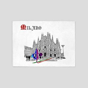 Milano Milan Italy 5'x7'area Rug