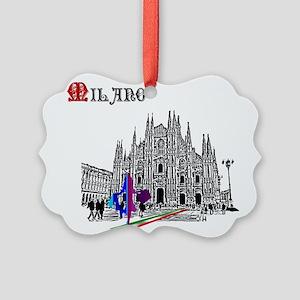 Milano Milan Italy Ornament