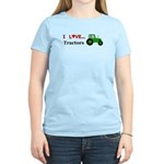 I Love Tractors Women's Light T-Shirt