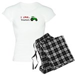I Love Tractors Women's Light Pajamas