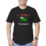 I Love Tractors Men's Fitted T-Shirt (dark)