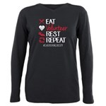 Repeat Plus Size Long Sleeve Tee T-Shirt