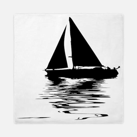 Unique Sailboats Queen Duvet