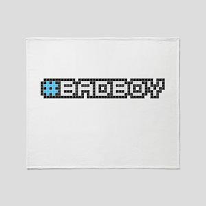 #badboy (Pixel Art) Throw Blanket