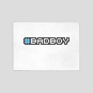 #badboy (Pixel Art) 5'x7'Area Rug