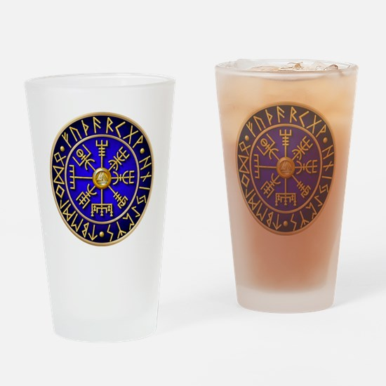 Unique Viking compass Drinking Glass