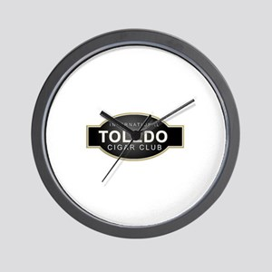 Toledo Cigar Club Wall Clock