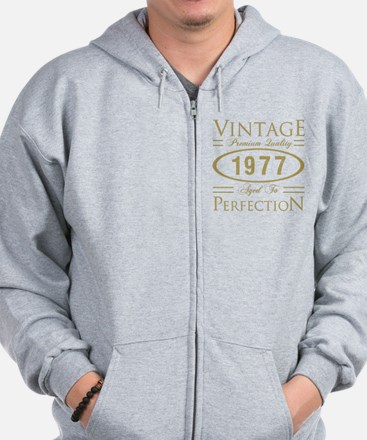 Unique For 40th birthday Zip Hoodie