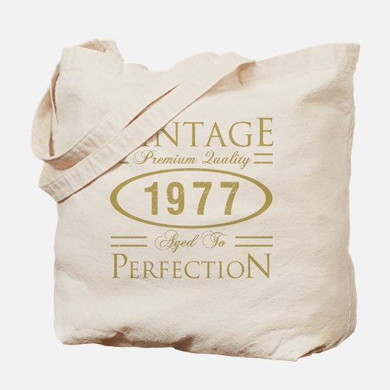 Cute 1977 Tote Bag