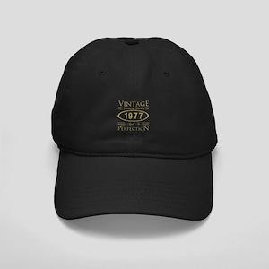 1977 Premium Quality Black Cap