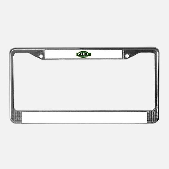 Omaha Cigar Club License Plate Frame
