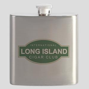 Long Island Cigar Club Flask