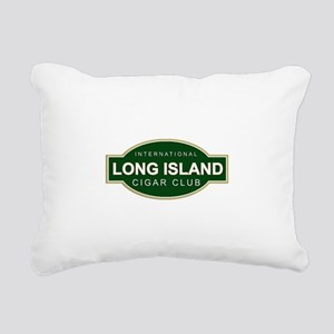 Long Island Cigar Club Rectangular Canvas Pillow