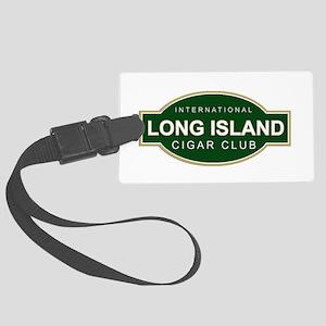 Long Island Cigar Club Large Luggage Tag