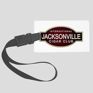 Jacksonville Cigar Club Large Luggage Tag