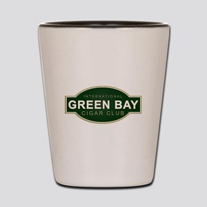 Green Bay Cigar Club Shot Glass