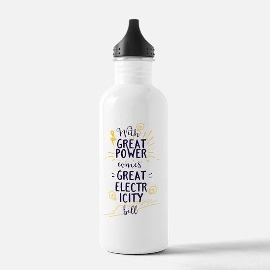 Cute Electricity pylon Water Bottle