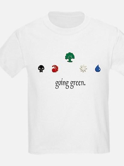 going green. T-Shirt