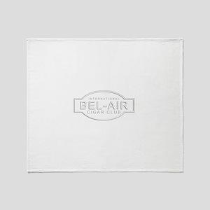 Bel-Air Cigar Club Throw Blanket