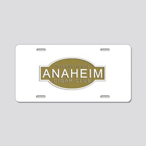 Anaheim Cigar Club Aluminum License Plate