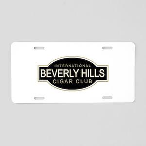 Beverly Hills Cigar Club Aluminum License Plate