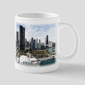 chicago drawing 2 Mug