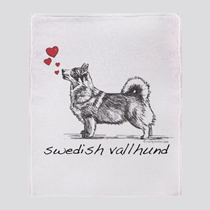 Swedish Vallhund Throw Blanket