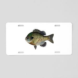 BLUEGILL Aluminum License Plate