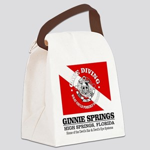 Ginnie Springs Canvas Lunch Bag