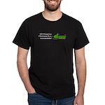 Christmas Snowmobile Dark T-Shirt