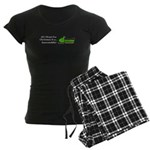 Christmas Snowmobile Women's Dark Pajamas